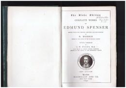 1890 Complete Works  Of Edmund Spencer    Morris  With A Memoir   J W Hales  M A - 1850-1899
