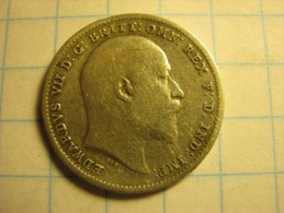 United Kingdom 3 Pence 1902 - 1902-1971 : Post-Victorian Coins