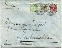 DANEMARK LETTRE DEPART SJAELLANOSKE 30-5-03 KYSTBANE POUR LA FRANCE - 1864-04 (Christian IX)