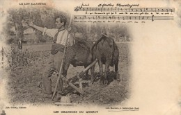 46 - SAINT CERE Le Lot Illustré Les Chansons Du Quercy  A Quelos Montagnes..... - Saint-Céré