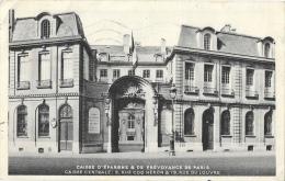 Paris - Caisse D´Epargne Et De Prévoyance - Caisse Centrale, Rue Coq Héron Et Rue Du Louvre - Banks