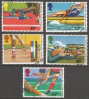 Great Britain. 1986 Commonwealth Games And World Hockey Cup. Used Complete Set. SG 1328-1332 - 1952-.... (Elizabeth II)