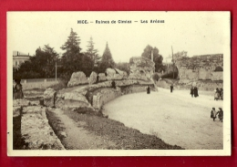 PAC-04  Nice Ruines De Cimiez  Les Arènes. Circulé - Places, Squares