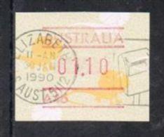 Australia 1989 Machine Label $1.10 Fine/good Used - Stamps
