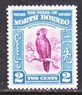 NORTH  BORNEO  194  *   FAUNA  BIRD  COCKATOO - North Borneo (...-1963)