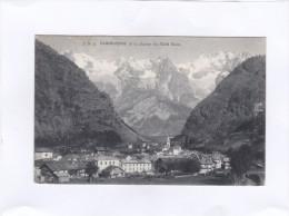 J.  B.  3.   Courmayeur  Et  La  Chaîne  Du  Mont  Blanc. - Italie