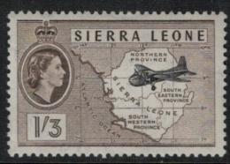 Sierra Leone SC 203 MNH Map - Sierra Leone (1961-...)