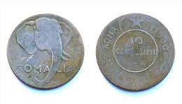 10 Centesimi 1950 Somalie/ Somalia. Roma. Cuivre - Somalie