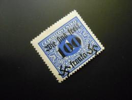 D.R.Mi 43  100H Auf 1Kc** - Sudetenland (Rumburg) - Prüfzeichen 1938 - Occupation 1938-45