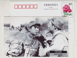 Memory Of Film Publicity Poster,China 1998 Changchun Film Production Factory Early Cinema Advert Pre-stamped Card - Cinema