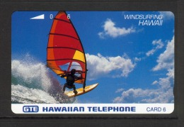Hawaii GTE - 1992 6u - Windsurfing  - HAW-25 - Mint - Hawaii