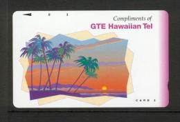 Hawaii GTE - 1992 3 Unit - Complimentary - Black Arrow - HAW-33 - Mint - Hawaii