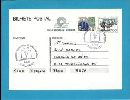 PONTA DELGADA - 02.05.1982 - Congresso Internacional De Termalismo Médico - Postmark Stationery Card - Portugal -2 Scans - Entiers Postaux