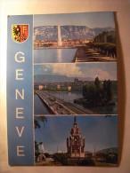 1 POSTCARD POSTAL PC CPA - SWITZERLAND !!! GENEVA (2 SCANS) - GE Ginevra