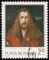 ROMANIA - Scott #2292 Albrecht Dürer, Painter (*) / Used Stamp - Ohne Zuordnung