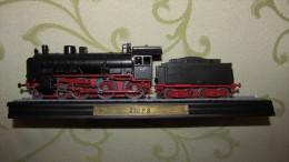 LOCOMOTIVE  230 P 8 - LA PRUSSIENNE - STATIQUE - BOITE ET FACICULE - EDITIONS ATLAS - - Locomotives