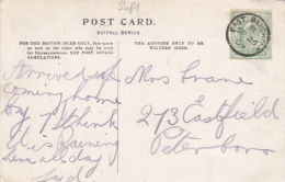 POSTAL HISTORY -1909 THIMBLE CANCELLATION - EAST BERGHOLT. - Storia Postale