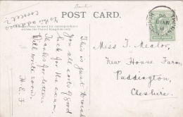 POSTAL HISTORY -THORNTON  HOUGH SINGLE CIRCLE CANCELLATION - Postmark Collection