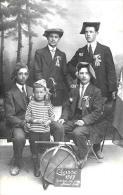 [DC2390] CARTOLINA - FOTOGRAFICA - CLASSE 1917 - Non Viaggiata - Old Postcard - Da Identificare
