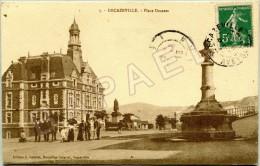 Decazeville (12) - Place Decazes (Circulé En 1913) - Decazeville
