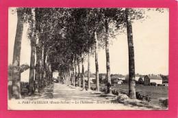 70 HAUTE-SAÔNE PORT-d'ATELIER, Route De Purgerot, 1919, (cliché Cueille..., Verney) - France