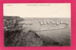 14 CALVADOS PORT-EN-BESSIN, La Ville Et L'Avant-Port, Bateaux, Voiliers, (A. Dubosq, Commes) - Port-en-Bessin-Huppain