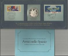 Conquista Dello Spazio: In Commemoration Of The Apollo Soyuz Space Mission 1975 Proof Sterling Silver. - Stati Uniti