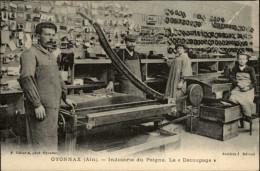 01 - OYONNAX - Industrie Du Peigne - Atelier - Oyonnax