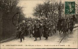 17 - ILE DE RE - En Route Pour La Guyane - Forcats - Bagnards - Ile De Ré
