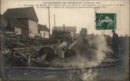 28 - COURVILLE - Catastrophe Ferrovière - Accident De Trains - Déraillement Trains - Courville