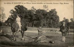 47 - DURAS - Dr DROUET Faisant Travailer Des Juments - Dressage - France