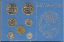 Seychelles, 1972, Serie Completa Fior Di Conio In Confezione Di Zecca. - Seychelles