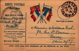 CARTE POSTALE A L´USAGE DU MILITAIRE..1916..CPA - Guerre 1914-18