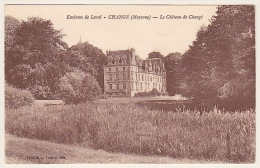 Environs De LAVAL .... CHANGÉ (Mayenne) ..... LE CHÂTEAU DE CHANGÉ - Non Classés