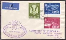Ghana , FDC , 1961 , Mi. Nr. 103 - 105 - Ghana (1957-...)