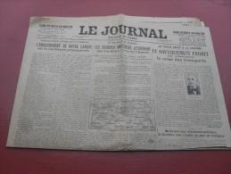 Le Journal  Edition De 5 H   Mardi 14 Novembre  1916 - Riviste & Giornali