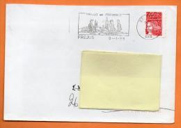 83 FREJUS  TRADITIONS   8 / 1 / 1999 Lettre Entière N° K 687 - Sellados Mecánicos (Publicitario)