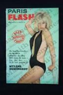Rare 1965 French Magazine Paris Flash No 4 - Mylene Demongeot & Jayne Mansfield - Humor