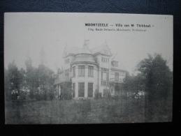 Cp/pk Moortzele Moortsele Villa Van Thibbaut - Oosterzele