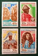 TRICENTENAIRE DE L´AMBASSADE DU ROI D´ARDRES 1970 - NEUFS ** - YT 291/94 - MI 422/25 - Bénin – Dahomey (1960-...)