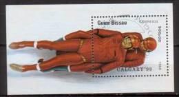 Guinea - Bissau Block , 1988 , Mi.Nr. 270 ( 934 ) O - Guinée-Bissau