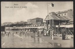 ANZIO - Bagni Riviera Di Levante - Viaggiata Nel 1918 - Editore Caracuzzo Di Albano Laziale - Italia