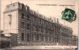 51 CHALONS SUR MARNE - Le Collège Saint étienne --- - Camp De Châlons - Mourmelon