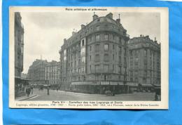 PARIS Vème-carrefour Des Rues Lagrange Et Dante Plan Animée -années1910*-20 - Distretto: 05