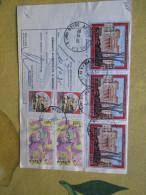 1985 Bollettino Spedizione L.200 Affrancatura L.3200Turistica L.670 X 3 + Coppia Europa L.500 + Castelli - 1981-90: Storia Postale