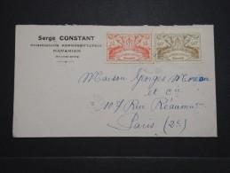 FRANCE - GUADELOUPE - Enveloppe De Bananier Pour Paris En 1946 - A Voir - Lot P14457 - Lettres & Documents