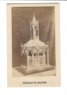 """CDV, Cathédrale De Chartres, Le Reliquaire Du Voile De La Vierge Marie """" Cette Image A Touché Au Précieux Vêtement """" - Fotos"""