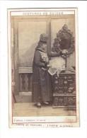 CDV , Costumes De Suisse , Canton De Fribourg ( Partie Allemande ), Phot. Ad. Braun, Dornach - Photographs