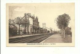 Romaneche Thorins La Gare ( Carte Ayant Voyagé ) - France