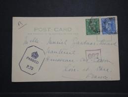 GRANDE BRETAGNE - Carte Pour La France En 1945 - Censure Anglaise - A Voir - Lot P14459 - Briefe U. Dokumente